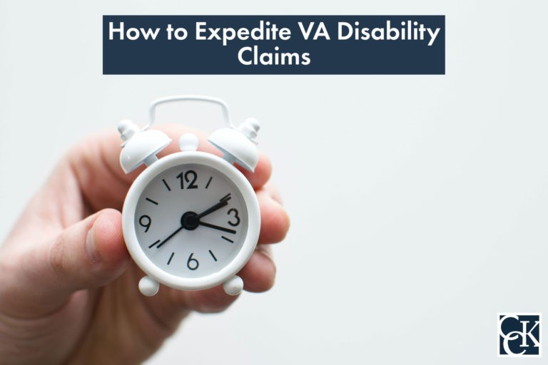 How to Expedite VA Disability Claims